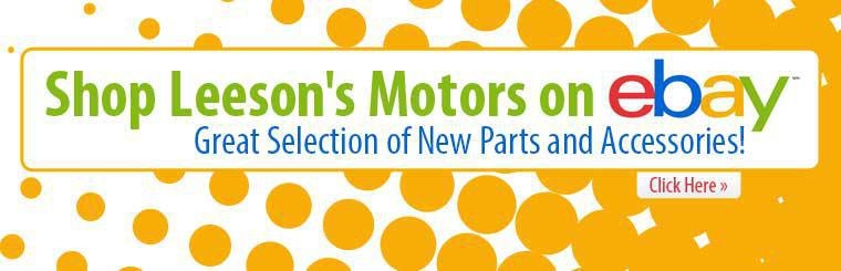 Shop Leeson's Motors on eBay! Click here for a great selection of new parts and accessories!