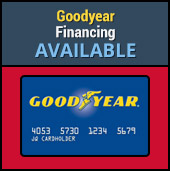 Goodyear Financing Available