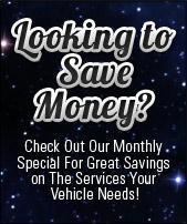 Check out our monthly savings.