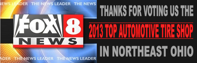 Thanks for voting us the official 2013 FOX 8 Hot List Winner!