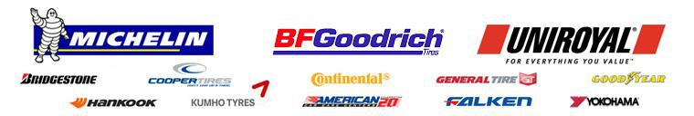We carry products from Michelin®, BFGoodrich®, Uniroyal®, Bridgestone, Cooper, Continental, General, Goodyear, Hankook, Kumho, Falken, and Yokohama. We are affiliated with the America Car Care Center.