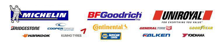 We carry products from Michelin®, BFGoodrich®, Uniroyal®, Bridgestone, Cooper, Continental, General, Goodyear, Hankook, Kumho, Falken, and Yokohama. We are affiliated with the NAPA AutoCare Center.