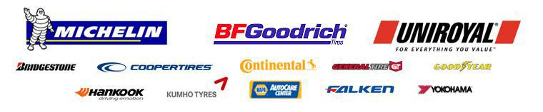 We carry products from Michelin®, BFGoodrich®, Uniroyal®, Bridgestone, Cooper, Continental, General, Goodyear, Hankook, Kumho, Falken, and Yokohama. We are a NAPA AutoCare Center.