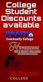 College Student Discounts available.