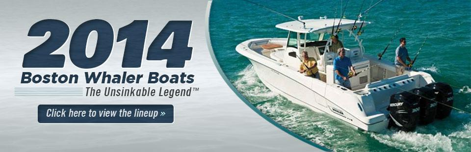 2014 Boston Whaler Boats: Click here to view the lineup.