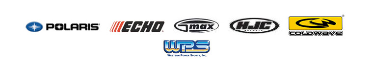 We proudly feature products from Polaris, ECHO, GMAX, HJC, ColdWave, and WPS.