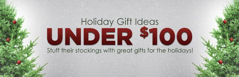 Holiday Gift Ideas Under $100: Stuff their stockings with great gifts for the holidays! Click here to shop online.