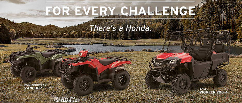 Honda Foreman and Ranchers
