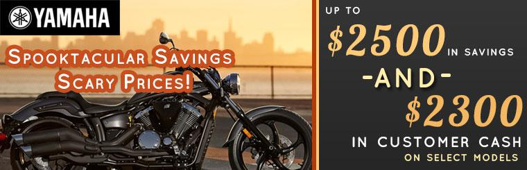 Scary Prices on Yamaha motorcycles