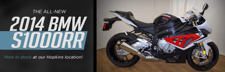 The all-new 2014 BMW S1000RR is now in stock at our Hopkins location!