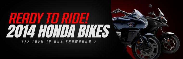 Click here to view the 2014 Honda bikes.