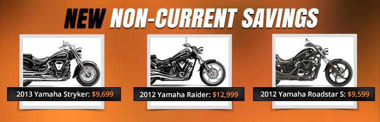 New Non-Current Savings: Click here to view the models.