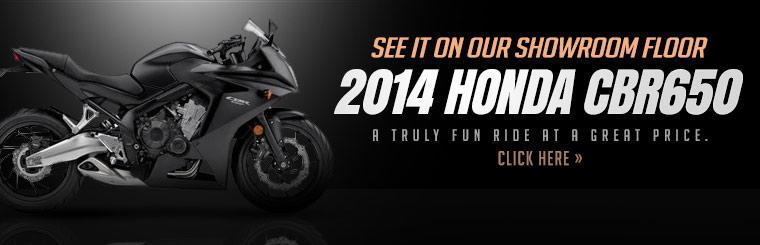 Click here to see the 2014 Honda CBR650.