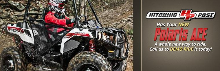 The new Polaris ACE is a whole new way to ride. Call us to demo ride it today!
