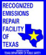 Recognized Emissions Repair Facility of Texas