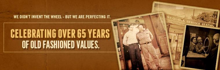 Malugani Tire Center is celebrating over 65 years of old-fashioned values!