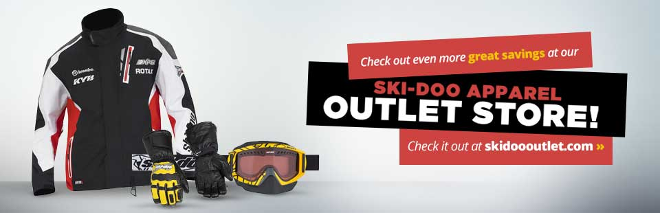 Click here to check out even more great savings at our Ski-Doo apparel outlet store!