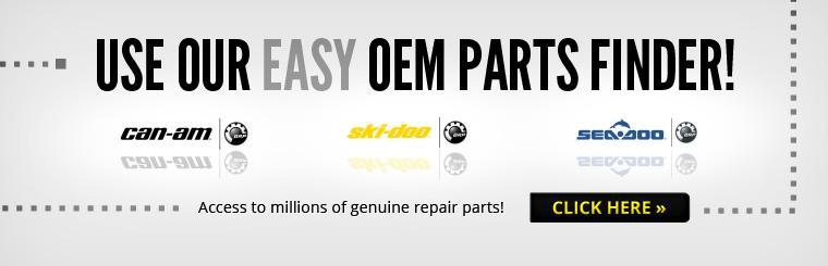 Click here to use our easy OEM Parts Finder and have access to millions of genuine repair parts!