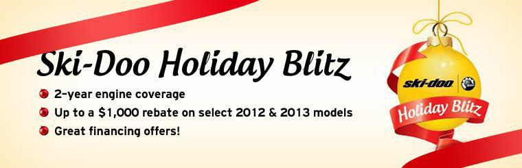 Ski-Doo Holiday Blitz: Click here for details.