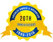 Locally Owned & Operated 20th Anniversary 1996-2016