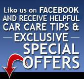 Like us on Facebook and receive Exclusive Special Offers!