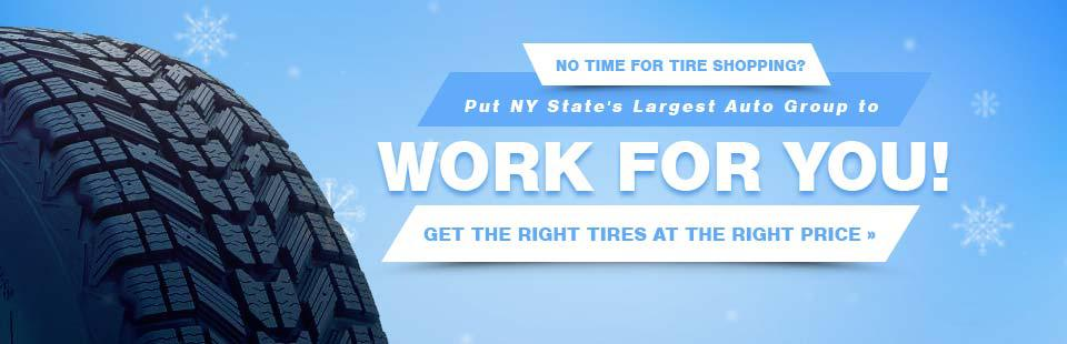 Get the right tires at the right price!
