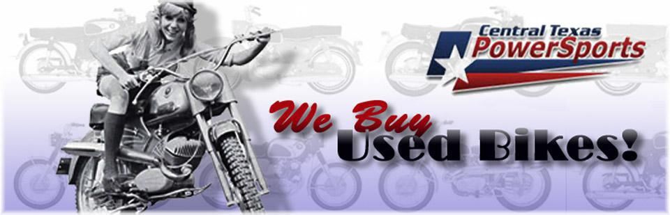 We buy used
