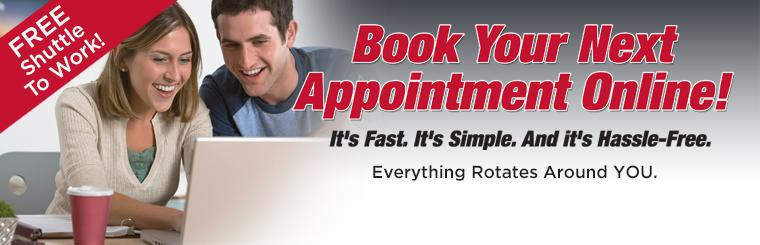 Schedule Your Service Appointment Online!
