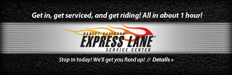Click here for details about our ExpressLane service.