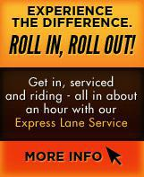 Experience the difference: roll in, roll out!
