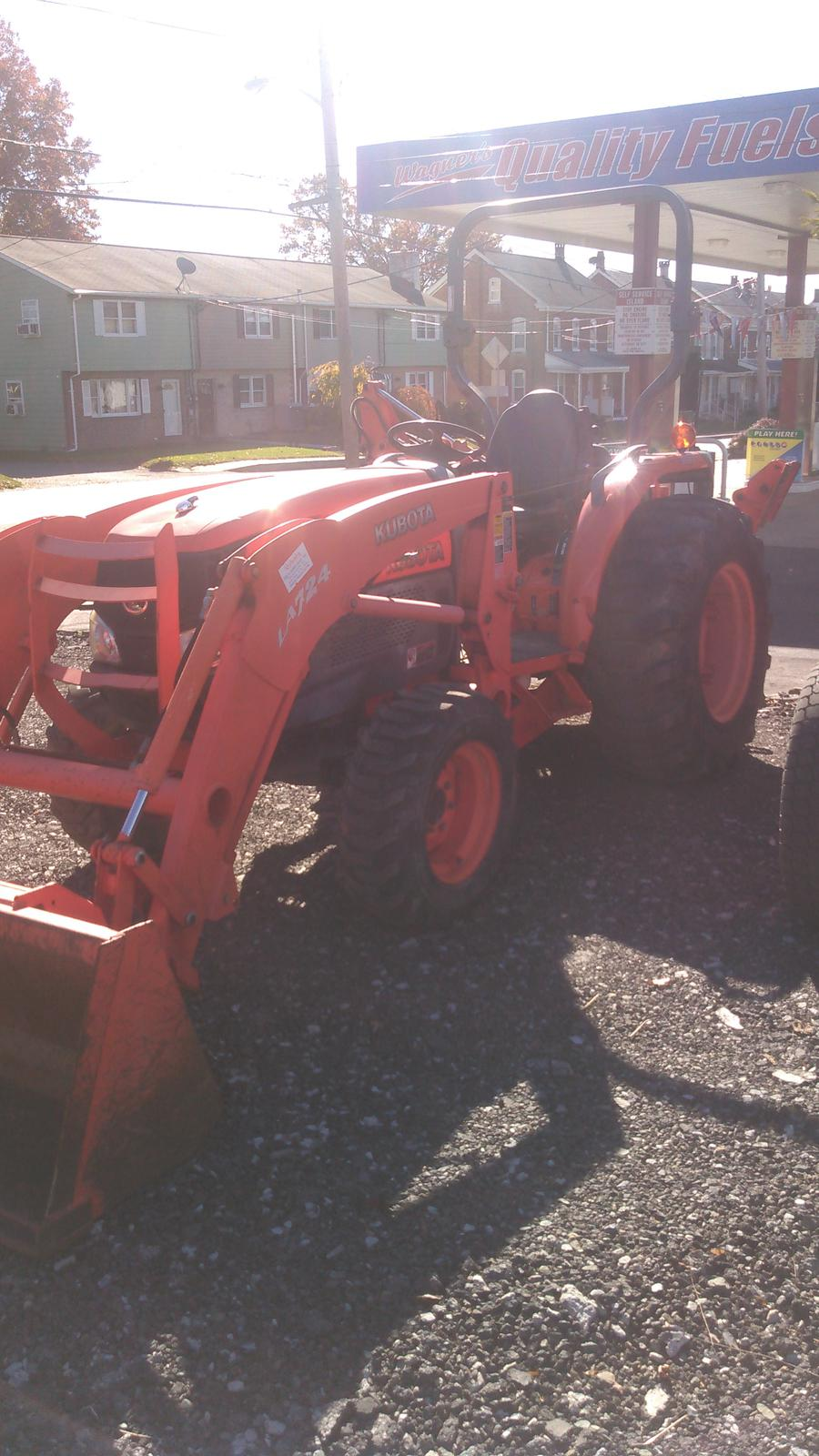 2007 Kubota L3940hst Compact Tractor for sale in New