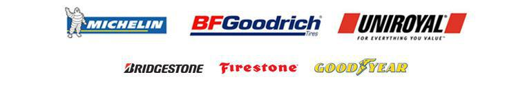 We are proud to carry products from Michelin®, BFGoodrich®, Uniroyal®, Bridgestone, Firestone and Goodyear!
