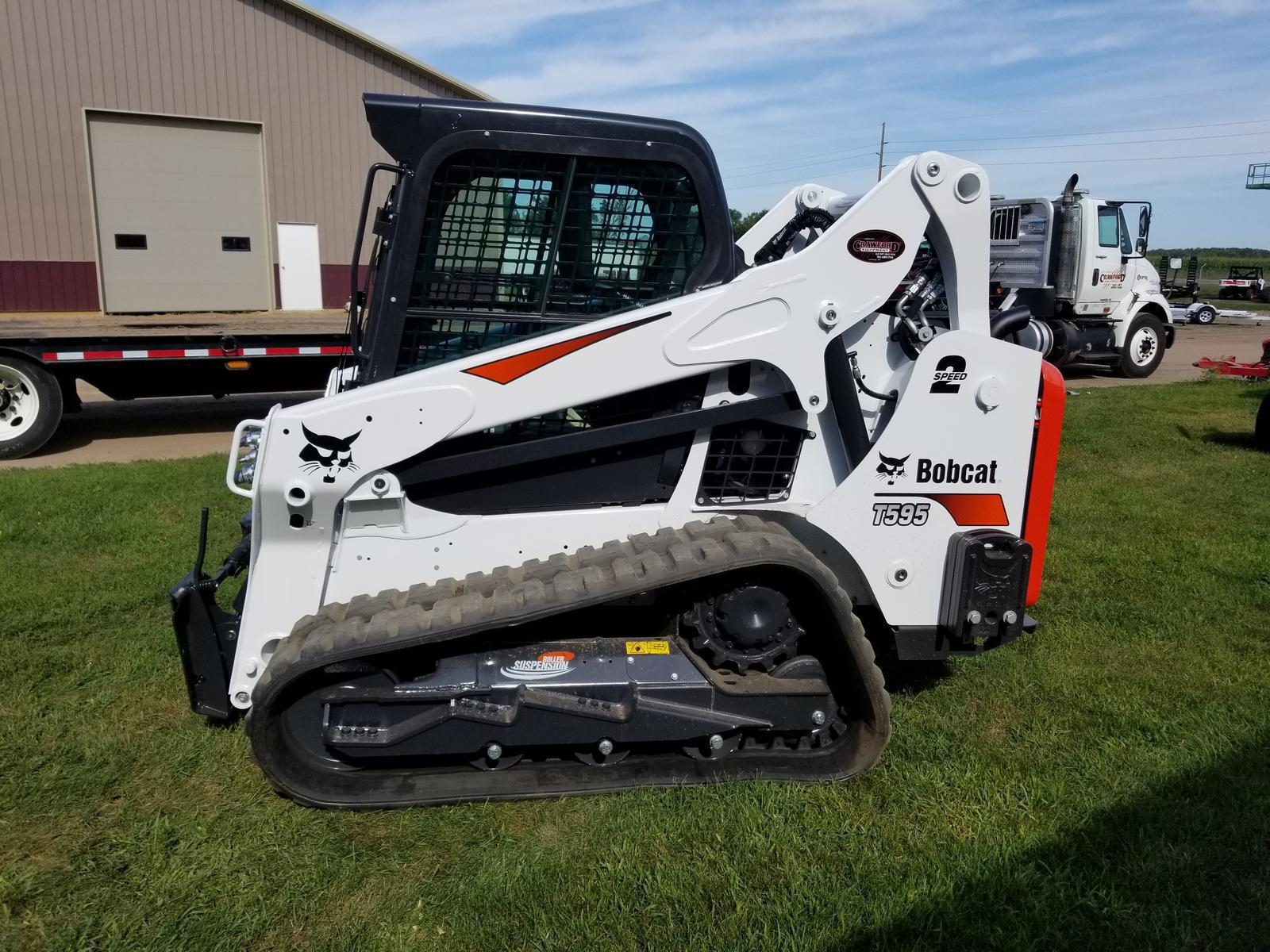 2019 Bobcat T595 for sale in Cambridge, MN  Crawford's