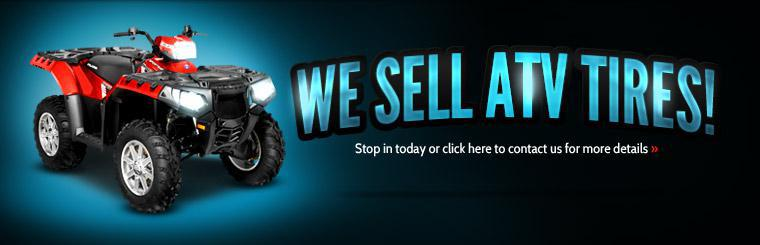 Click here to view our selection of ATV tires!