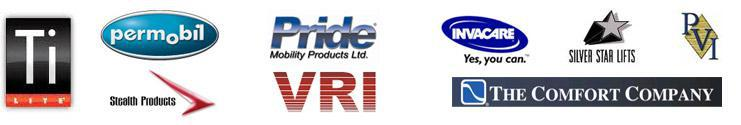 We carry products from Invacare, The Comfort Company, PDG, Pride, Silver Star Lifts, and Prairie View Industries