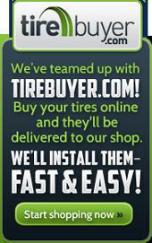 Buy Tires Online with TireBuyer