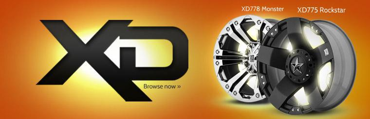 Click here to browse XD Series wheels, including the XD775 Rockstar and the XD778 Monster.