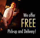 We offer Free Pick-up and Delivery!