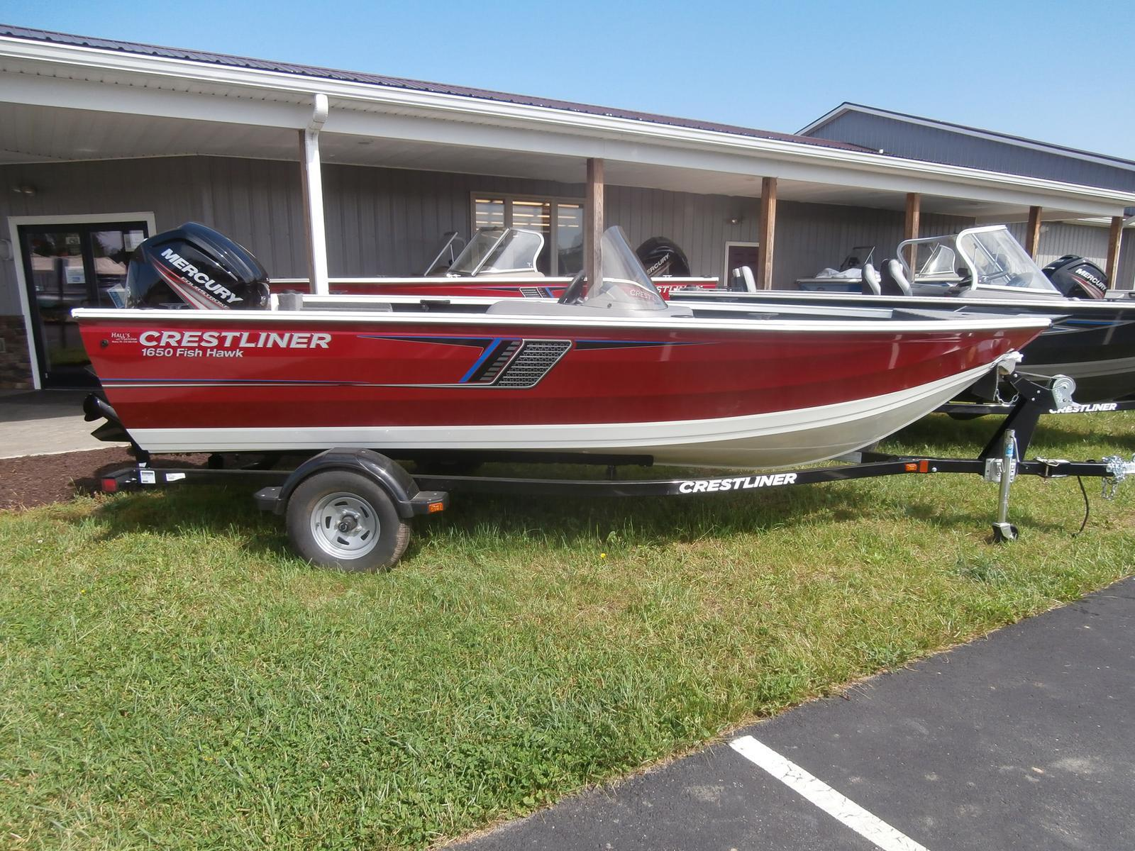 2017 Crestliner 1650 Fish Hawk Sc For Sale In Muncy Pa Halls Fishing Boat Wiring Harness Marine 570 935 0159