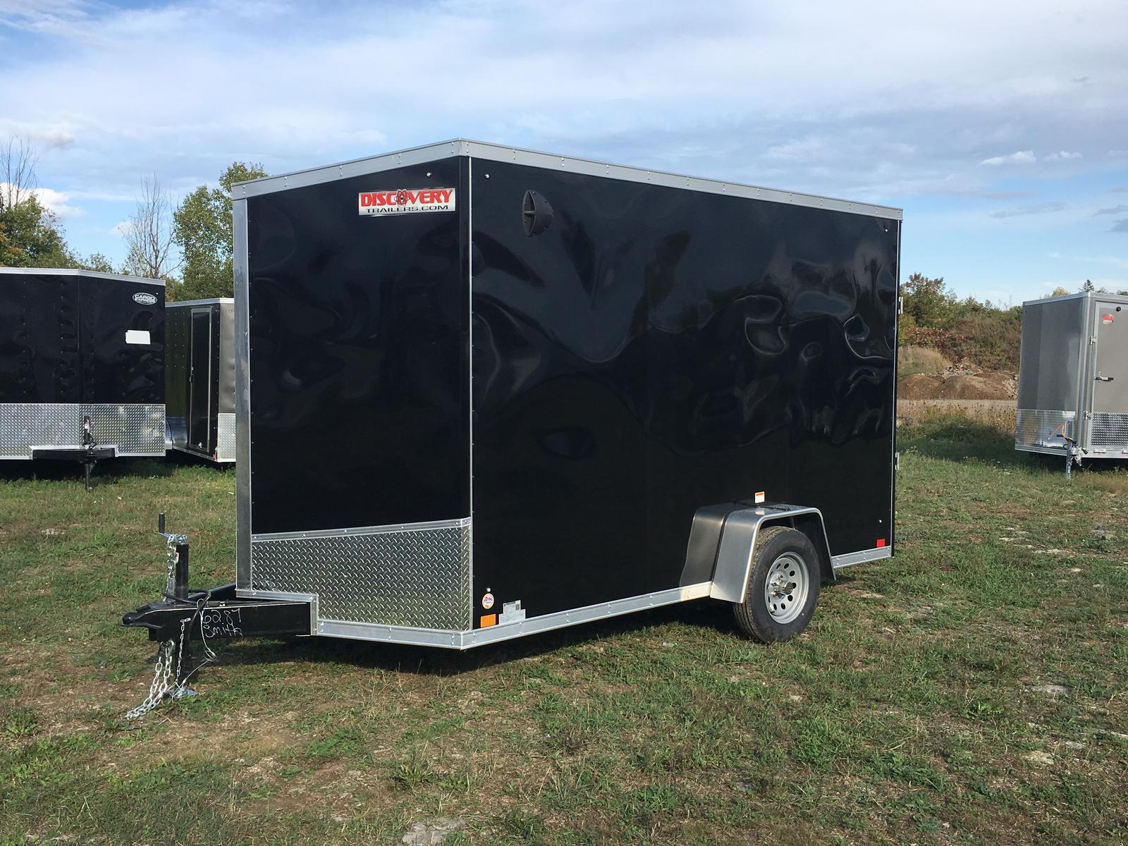 Trailers Plus Peterborough >> 2020 Discovery Trailers 7x12 Enclosed Cargo Trailer With Ramp Door Drse712sa35