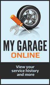 My Garage Online. View your service history and more.