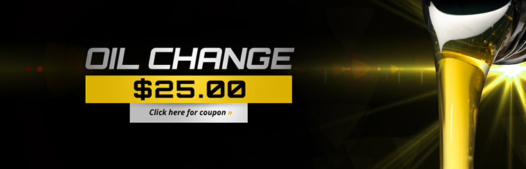 $25 oil change at Perfect Performance Tires in Roswell, GA get your oil change coupon.