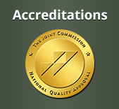We Are Accredited by The Joint Commission