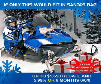 If only this would fit in Santa's bag... Up to $1650 rebate and 5.99% or 6 months 0/0/0. 2 year warranty available.