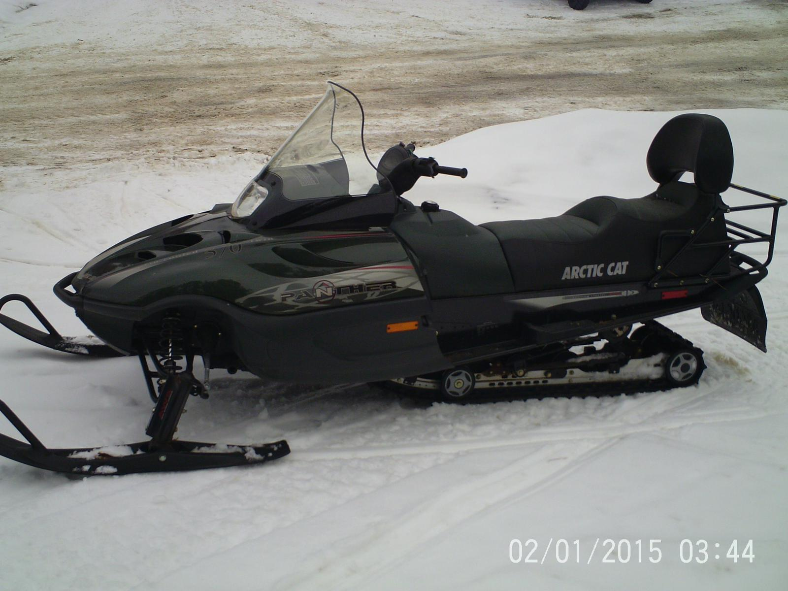 2001 Arctic Cat Panther 370 For Sale In WEBB LAKE WI FOUR STAR