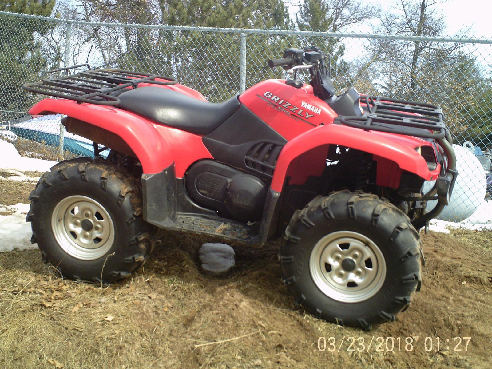 Yamaha Grizzly 660 >> 2005 Yamaha Grizzly 660 Sold For Sale In Webb Lake Wi Four