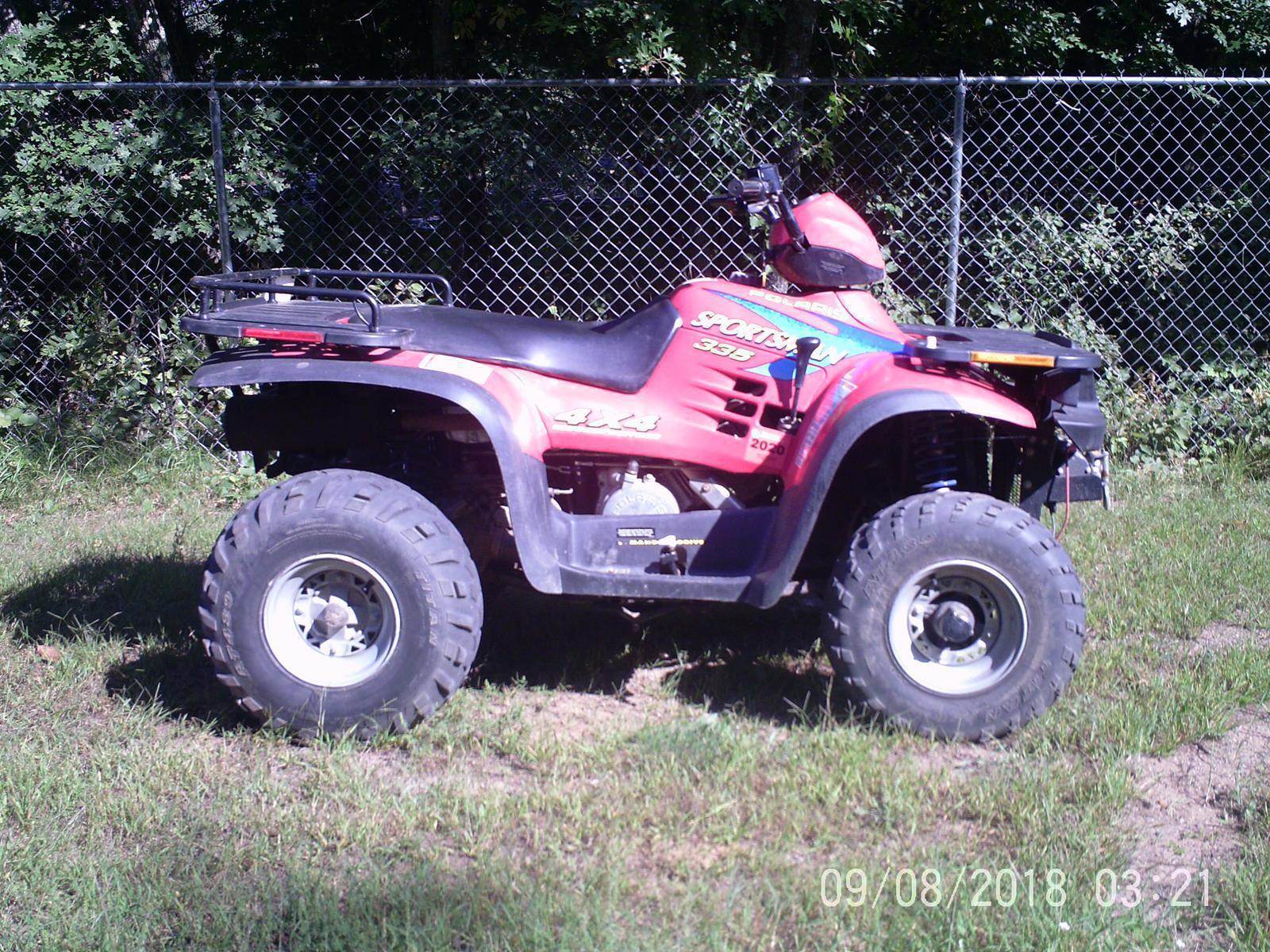 Used ATV'S from Polaris FOUR STAR SPORTS WEBB LAKE, WI (715