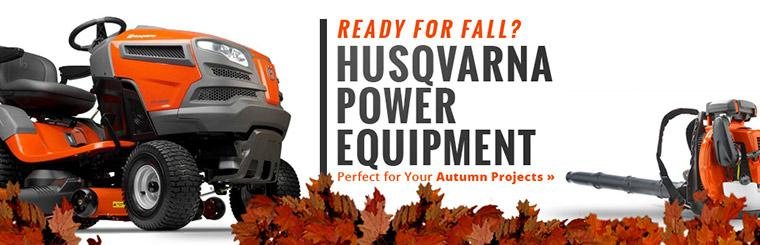 Husqvarna Power Equipment: Perfect for your autumn projects!