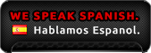 We speak Spanish. Hablamos Espanol