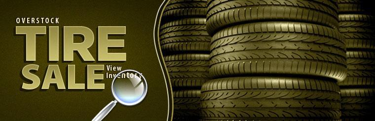 Click here to shop our overstock tire sale.